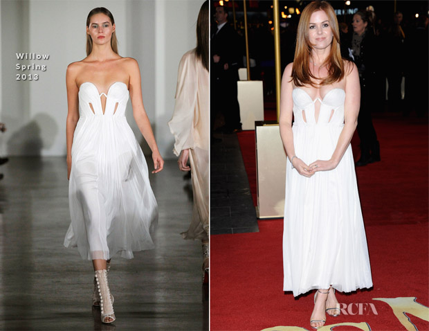 Isla Fisher In Willow - 'Les Miserables' London Premiere