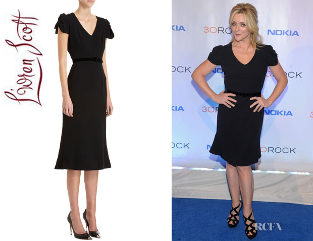 Jane Krakowski's L'Wren Scott Belted Dress