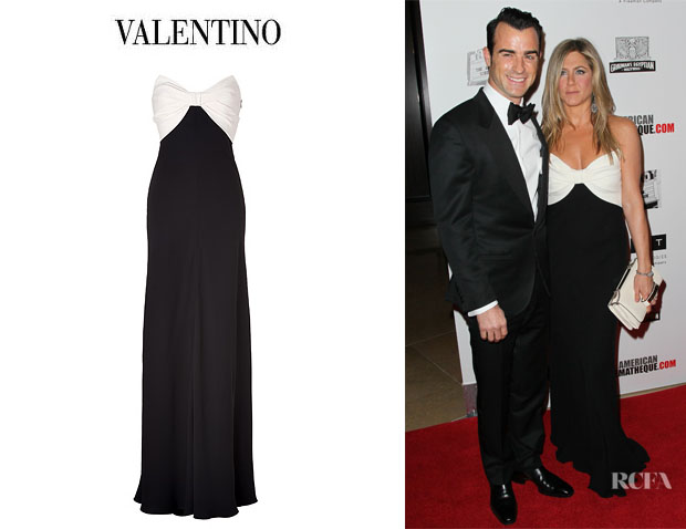Jennifer Aniston's Valentino Silk Gown