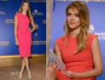 Jessica Alba In Christian Dior - 70th Annual Golden Globe Awards Nominations Announcement