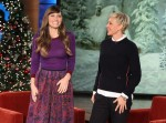 Jessica Biel In Wes Gordon – The Ellen DeGeneres Show