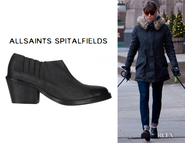 Jessica Biel's All Saints Crimean Boots