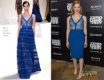 Jessica Chastain In Elie Saab - 'Zero Dark Thirty' LA Premiere