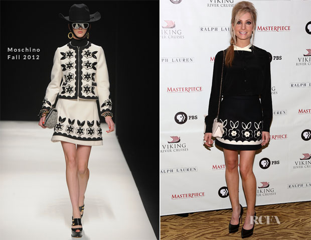 Joanne Froggatt In Moschino - 'Downton Abbey' Season 3 Photocall