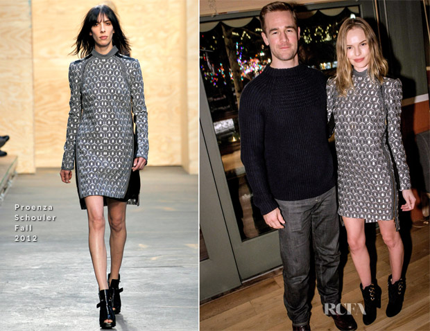 Kate Bosworth In Proenza Schouler - Audi Aspen Holiday Party