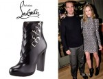 Kate Bosworth's Christian Louboutin Troop Buckled Booties