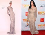 Katy Perry In Marchesa - 'Trevor Live' Event