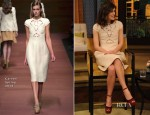 Keira Knightley In Carven - 'Live with Kelly and Michael'