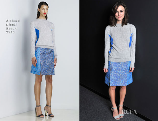 Keira Knightley In Richard Nicoll - TheWrap's Awards Season Screening Series Presents 'Anna Karenina'