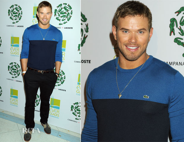 Kellan Lutz In Lacoste - Lacoste Celebration at Art Basel Miami Beach