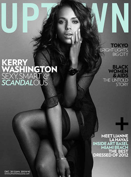Kerry-Washington Uptown January 2013