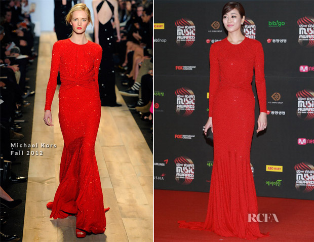 Kim Hyo Jin In Michael Kors – 2012 Mnet Asian Music Awards