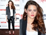 Kristen Stewart In BCBG Max Azria & H&M - 'On The Road' Vanity Fair Screening