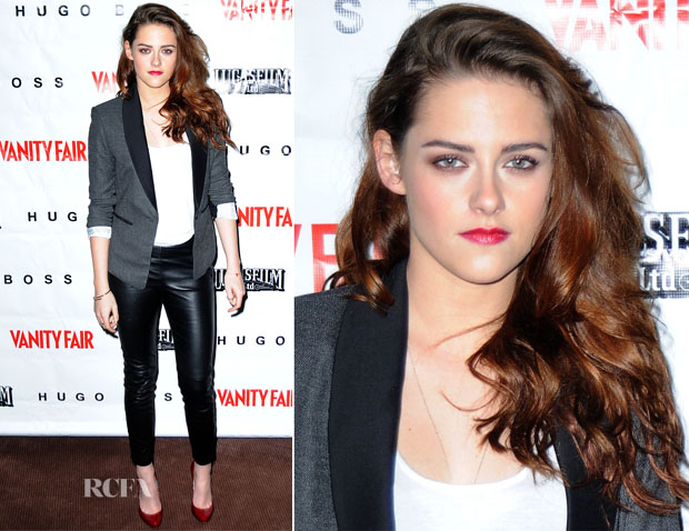 Kristen Stewart In BCBG & H&M - 'On The Road' Vanity Fair Screening