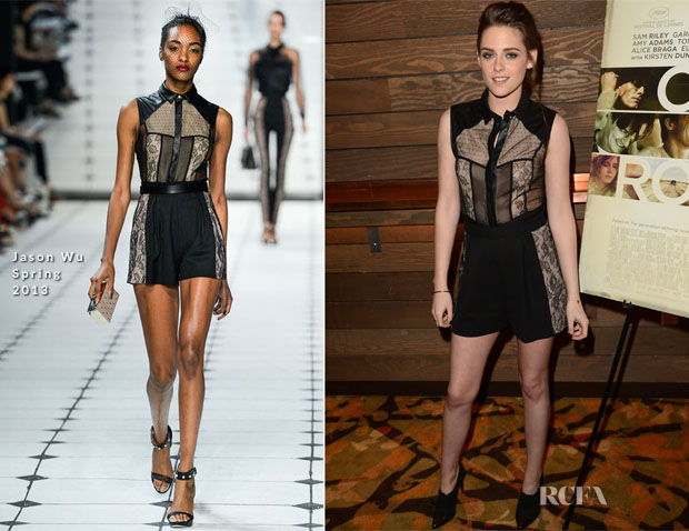 Kristen Stewart In Jason Wu - 'On The Road' LA Screening