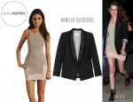 Kristen Stewart's Finders Keepers Crazy Love Body Dress And Boy. by Band of Outsiders Wool Blazer