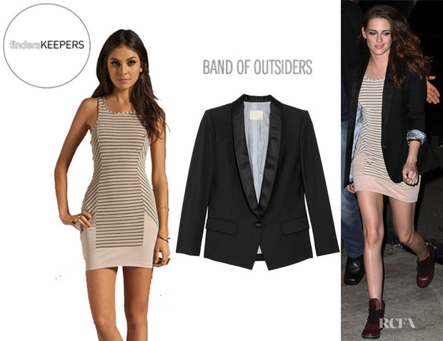 Kristen Stewart's Finders Keepers Crazy Love Body Dress And Boy