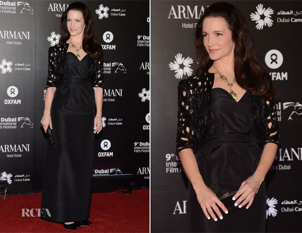 Kristin Davis In Vintage Dior – Dubai Cares and Oxfam 'One Night Lives' Charity Gala