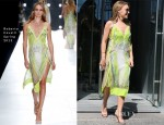 Kylie Minogue In Roberto Cavalli - Icebergs Dining Room and Bar