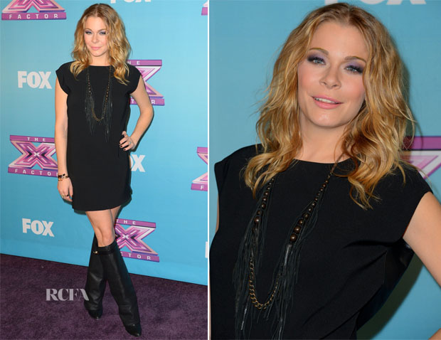 LeAnn Rimes In Nini Nguyen - 'The X Factor' Season Finale Night 1
