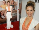 Leslie Mann In Vionnet - 'This Is 40' LA Premiere