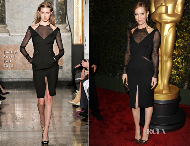 Leslie Mann in Emilio Pucci – Academy of Motion Picture Arts and Sciences' 4th Annual Governors Awards