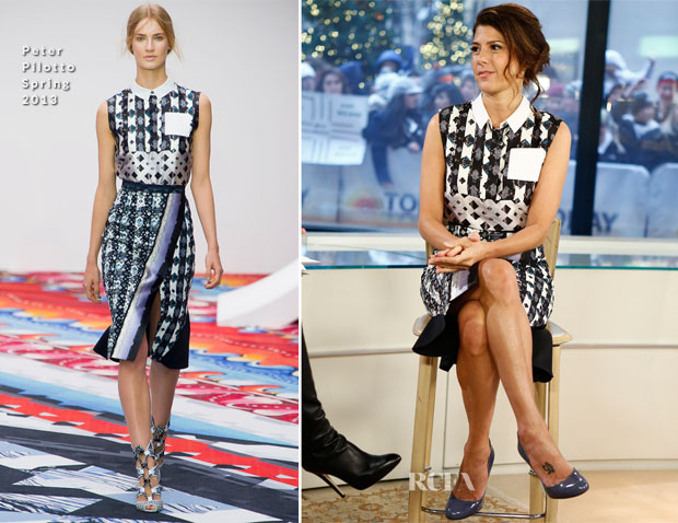 Marisa Tomei In Peter Pilotto - The Today Show