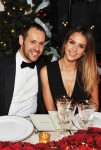 Creative Director of Salvatore Ferragamo, Massimiliano Giornetti and Jessica Alba