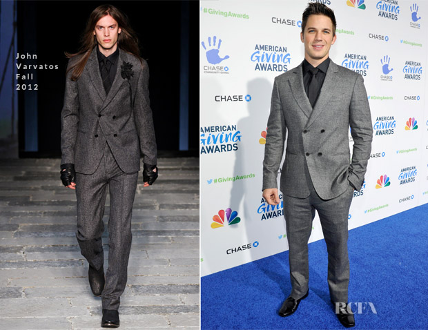 Matt Lanter In John Varvatos - 2012 American Giving Awards