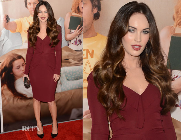 Megan Fox In Roland Mouret - This is 40 la premiere