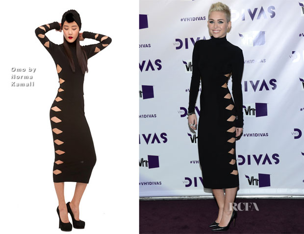 Miley Cyrus In Omo by Norma Kamali - VH1 Divas 2012