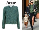 Miranda Kerr's Acne Ruth Twist Sweater