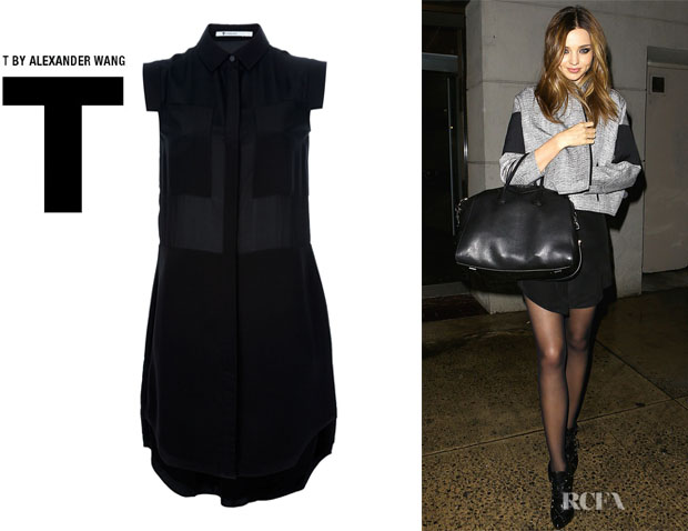 Miranda Kerr's T by Alexander Wang Shirt Dress
