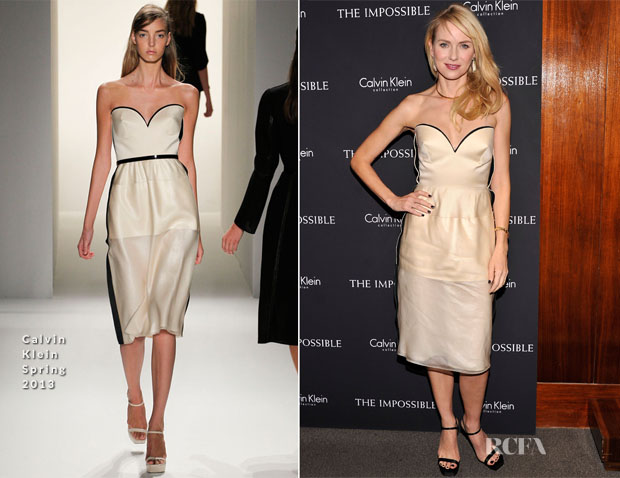 Naomi Watts In Calvin Klein - 'The Impossible' New York Premiere
