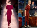 Naomi Watts In Valentino - Late Night With Jimmy Fallon