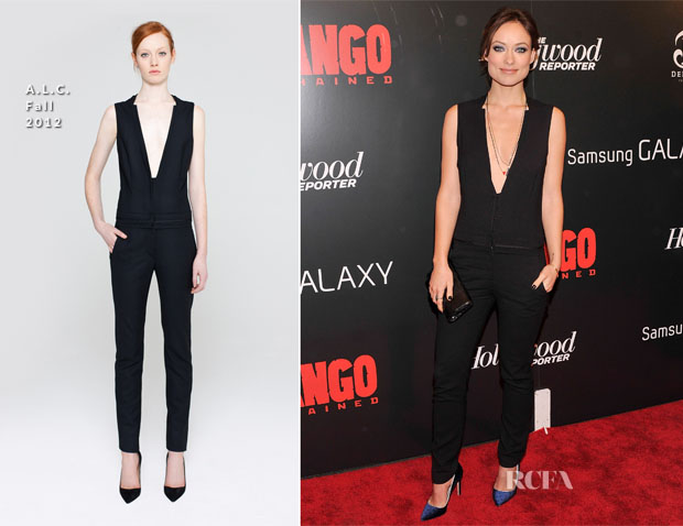 Olivia Wilde In ALC - 'Django Unchained' New York Premiere
