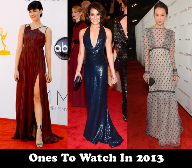 Ones To Watch In 2013
