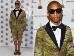 Pharrell Williams In Moncler Gamme Bleu – Moncler Celebrates 60th Anniversary Art Basel Miami Party