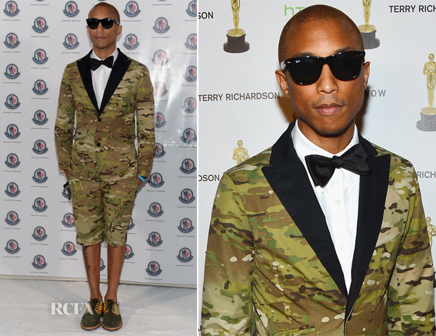 Pharrell Williams In Moncler Gamme Bleu – Monclear Celebrates 60th Anniversary Art Basel Miami Party