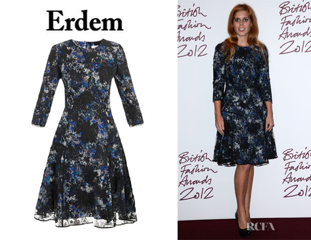 Princess Beatrice's Erdem Lily Pelham Dress