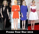 Promo Tour Star 2012 - Emma Stone for 'The Amazing Spider-Man'