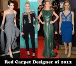Red Carpet Designer of 2012 & Couturier of 2012 - Elie Saab