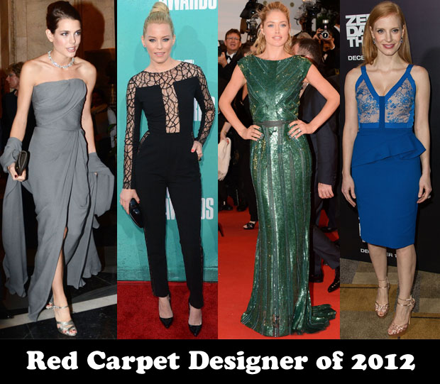 Red Carpet Designer of 2012  - Elie Saab
