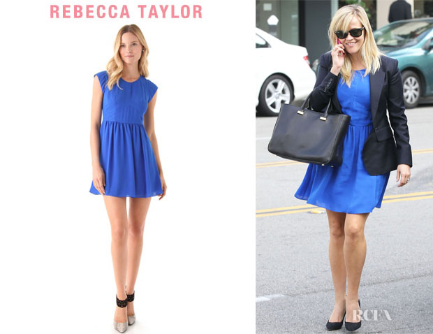 Reese Witherspoon's Rebecca Taylor Easy Dress