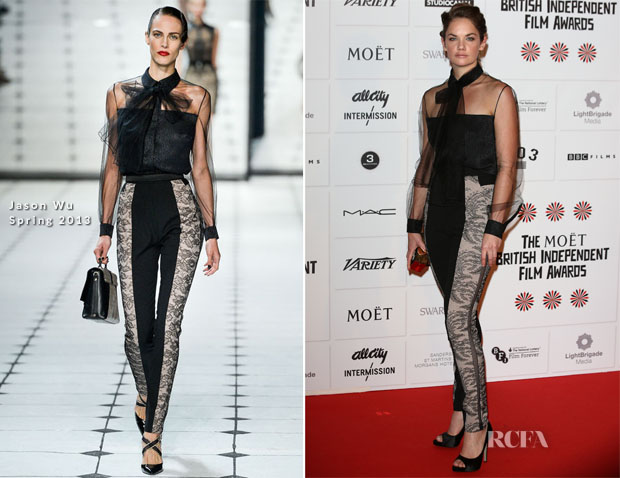 Ruth Wilson In Jason Wu - British Independent Film Awards
