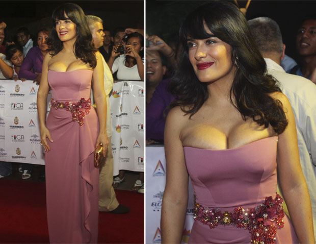 Salma Hayek In Gucci - 2012 Acapulco International Film Festival