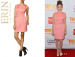 Sarah Hyland's Erin Fetherston Bow Back Dress