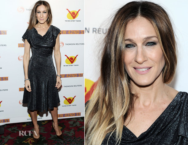 Sarah Jessica Parker In Vivienne Westwood - New 42nd Street Gala