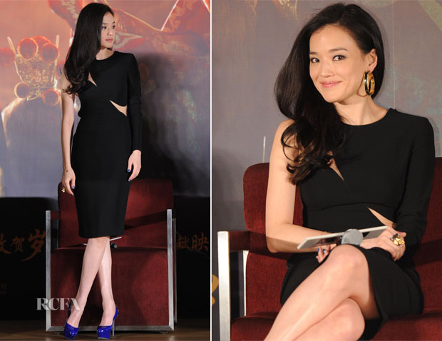 Shu Qi In Stella McCartney - 'Journey to the West' Beijing Press Conference