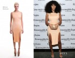 Solange Knowles In Olcay Gulsen - Ermenegildo Zegna 'Essenze' Collection Launch Event